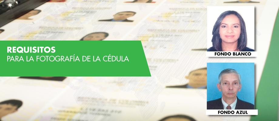 Características De Las Fotos Para Solicitar La Cédula De Ciudadanía