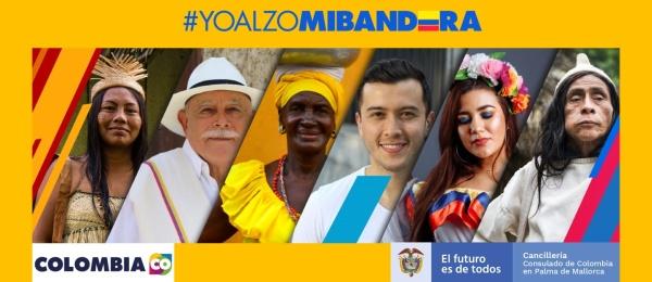El Consulado de Colombia en Palma de Mallorca invita a los connacionales a la celebración del Día de la Independencia Nacional
